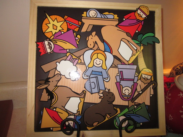 Nativity by Picasso or Graham?